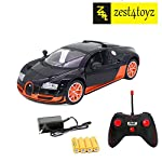 zest 4 toyz 1:16 Ferrari Remote Control Car with Opening Doors, Rechargeable, Red Design Big size 1:16 scale Full Functional Remote Control Car with opening doors and lights. Functions: Moves forward, backward, turn left and right. Material: Made of ...