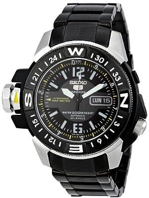 SEIKO SKZ231K1 - Reloj de Caballero movimiento automático con brazalete metálico