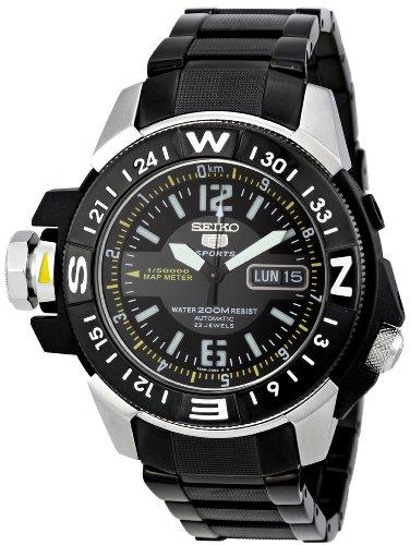 SEIKO-SKZ231K1-Reloj-de-Caballero-movimiento-automtico-con-brazalete-metlico