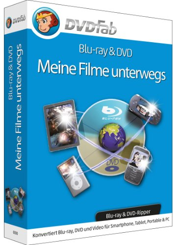 DVDFab - Meine Filme unterwegs (Blu-ray & DVD Ripper) (Dvd-ripper-software)