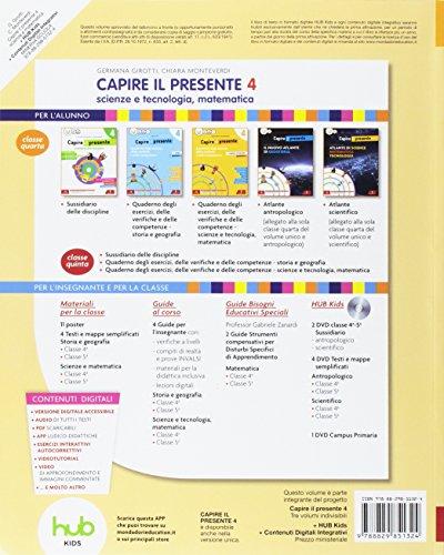 Capire il presente. Sussidiario scienze e tecnologia. Per la Scuola elementare. Con e-book. Con espansione online: 1