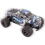 Toyshine Plastic Cheetah King Remote Control Buggy Truck,2.4 GHz System 1:18 Scale Size Working Suspension, Rechargeable(Assorted Color)