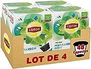 Lipton Thé Vert Marrakech Menthe, Capsules Compatibles Nescafé Dolce Gusto, Label Rainforest Alliance 48 Capsu
