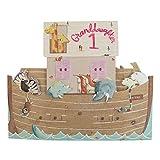 Hallmark Geburtstagskarte zum 1. Geburtstag, für Enkelin, Pop-Up-Design