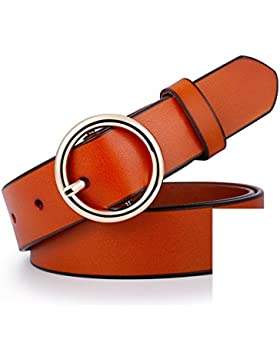 Cinturón Simple De Moda/Tamaño Salvaje Decorativa Correa-C 135cm(53inch)