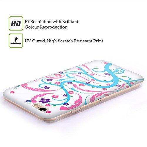 Head Case Designs Girasole Rami E Fiori Cover Morbida In Gel Per Apple iPhone 7 Plus / 8 Plus Anemone Coronaria