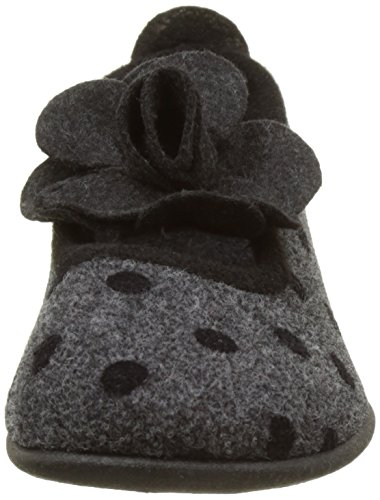 Rondinaud Aclou, Chaussons Bas Femme Gris (06 Anthracite)