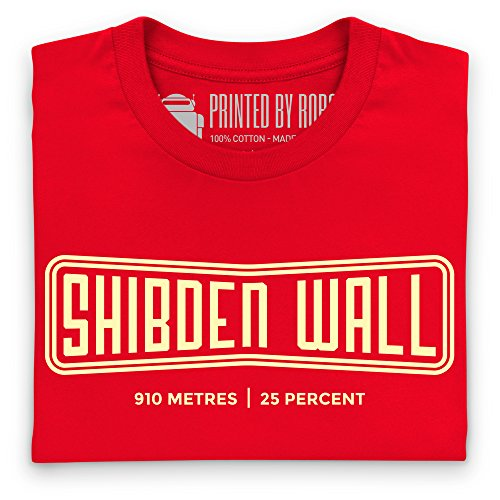 Cycling - Shibden Wall T-Shirt, Herren Rot