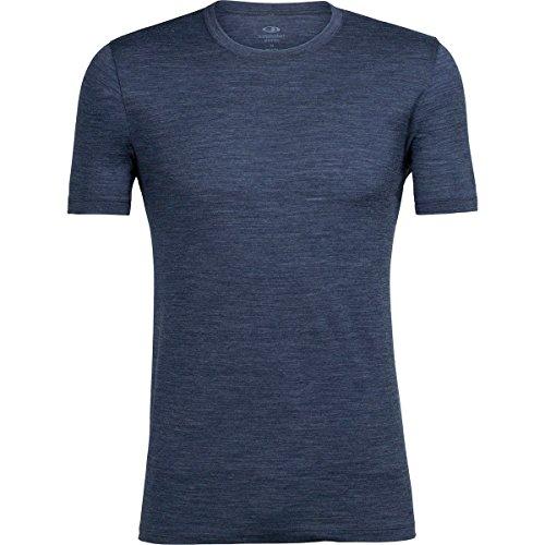 Icebreaker Herren Tech Lite Ss Crewe T-Shirt, Midnight Navy (Marineblau), Einheitsgröße Fathom HTHR