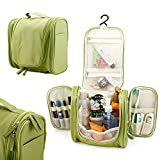 #5: Toiletry Bag  Travel Pouch Bag  Makeup Pouch  Cosmetics Pouch  Unisex Traveling Zipper Pouch For Storage   Waterproof Travel Organizer Pouch with Hanger For Multipurpose Use (Color May Vary)