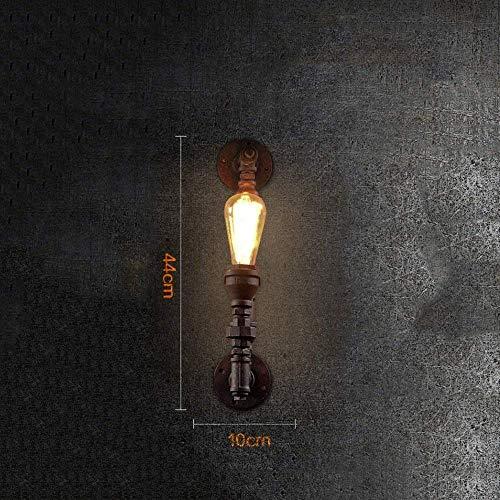 Wisdom Kronleuchter Single Head Vintage Industrial Light Scheune Wandleuchte Edison E27 Industrielle Retro Wandlampe Dekoration Insel Lager Loft Steampunk Wasserpfeifen ()
