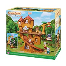 Sylvanian Families 5494 Adventure Tree House Playset