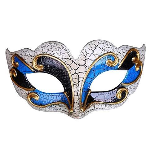 Maskerade Frauen Venezianischen Kostüm - Männer Frauen Maskerade Kostüm Venezianische Maskerade Maske Bösewicht Augenmaske Für Hochzeit Bithday Party Dekoration