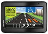 TomTom Via 130 Europe Traffic Navigationssystem (11 cm (4,3 Zoll) Touchscreen, Speak und GO, Freisprechen, Bluetooth, IQ Routes, Kartenslot, TMC, Europa 45)
