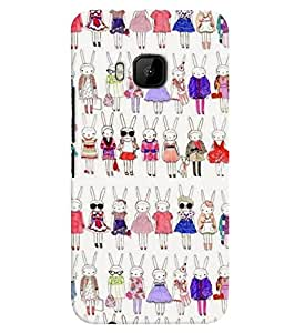 TOUCHNER (TN) Fashion Girl Back Case Cover for HTC One M9::HTC M9::HTC One Hima