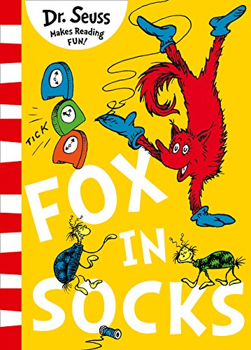 Book cover for Fox in Socks