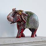 Paper High Fair Trade Holz-Elefant - groß