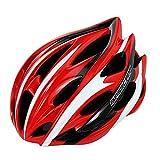 granvela® BC015Road/Mountain Bike Helm Erwachsene Skate Fahrrad Helm, groß Passt 56–62cm verstellbar Ultralight engen für Herren und weman (schwarz & blau) rot rot