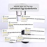 figg Design Salz und Pfeffermühle (2er-Set) mit einstellbarem Keramik-Mahlwerk – aus Edelstahl – Auch geeignet als Salzmühle und Gewürzmühle - 5