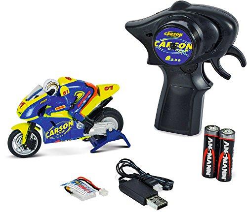 """Carson 500404125 - """"Micro Bike 2.4 GHz"""" Fahrzeug"""