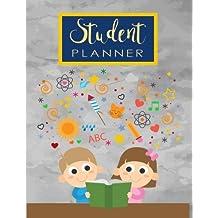 Student Planner: Kid Reading Daily Weekly Monthly Planner Organizer Student Teacher Acadamic Colege High School University (Student Education Teaching School Planning)