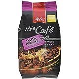 Melitta Ganze Kaffeebohnen, charaktervoll und intensiv mit Nuancen dunkler Schokolade, kräftiger Röstgrad, Stärke 4, Mein Café Dark Roast, 1000 g