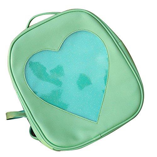 TOMATO-smile, Borsa a zainetto donna multicolore Himmelblau verde