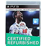 #4: (CERTIFIED REFURBISHED) EA Sports FIFA 18 Legacy Edition (PS3)