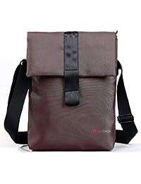 Bauer–Bolso bandolera para portátiles, MacBooks, portátiles, Ultrabooks, Chromebooks, superficie Pro 2/3, Dell Venue hasta 12pulgadas de tagsbags
