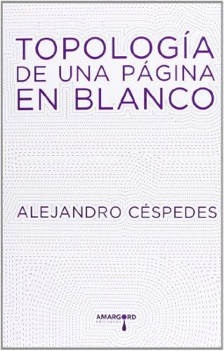 Topología De Una Página En Blanco