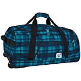 Chiemsee Reisetasche Rolling Duffle Large, Checky Chan Blue, 70 x 40.5 x 32 cm, 90 Liter, 5021003
