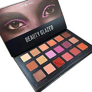 Beauty Glazed Pro 18 Colors Women Desert Dusk Matte Eyeshadow Pallete Waterproof Maquillaje Shimmer Eyeshadow Make Up Set Palette