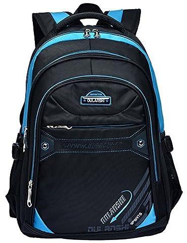 Schulrucksack Kids Travel Umhängetasche Bookbag Laptop Rucksäcke für Mädchen Jugendliche (Blau)