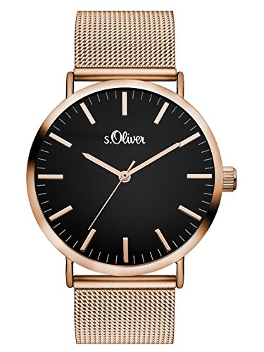 s.Oliver Time Damen-Armbanduhr SO-3327-MQ