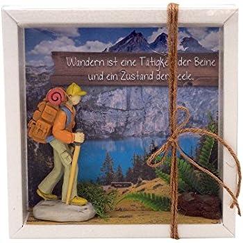 ZauberDeko Geldgeschenk Verpackung Wanderer Wanderurlaub