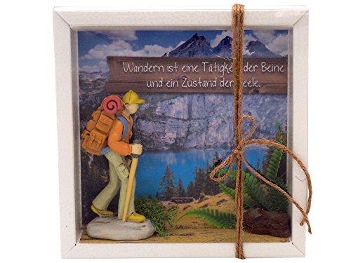 ZauberDeko Geldgeschenk Verpackung Wanderer Wanderurlaub Berge Gutschein Urlaub Reise Geschenk Geburtstag