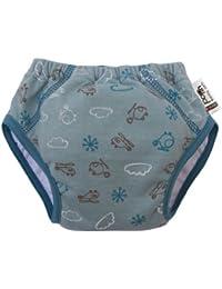 Close Parent 3120021117 - Pantaloncito de aprendizaje para niño, color azul, talla M