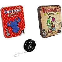 Lot de 2 jeux Gigamic : 6 Qui Prend + Bohnanza + 1 Yoyo Blumie