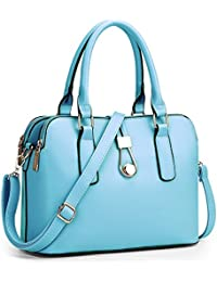 TOOGOO(R) Fashion Business Women Messenger Bags High Quality Office Bag Double Zipper Crossbody Bag PU Leather... - B01M7ORP2F