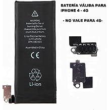 Repuesto de bateria interna / recambio compatible con Apple iphone 4 4g 1420 mah