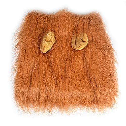 Geschenk Süßes Haustier Cosplay-Kleidung Verklärung Kostüm Löwenmähne Winter warm Große Hundeparty-Dekoration der ()