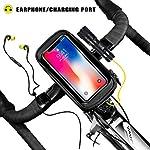 Faireach-Borsa-Bici-Telaio-con-Supporto-per-Telefono-Custodia-per-Borsa-Porta-Telefono-Phone-Bag-Impermeabile-con-Finestra-Touch-Screen-per-iPhone-Samsung-Smartphone-Max-1650cm