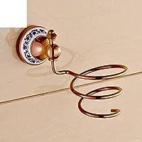 WC-style capelli asciugacapelli rack/Parete montaggio hair dryer/ bagno stoccaggio aria tubo/Rack-B