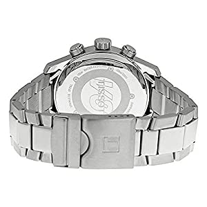 Tissot T039.417.11.047.03 - Reloj para hombres, correa de acero inoxidable color plateado de Tissot