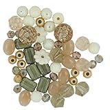 Jesse James Kunststoff Design Elements Beads 28g-vanilla Zucker