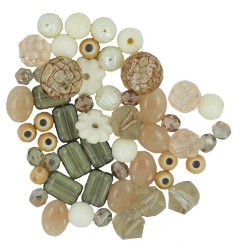 Jesse James Kunststoff Design Elements Beads 28 g-vanilla Zucker