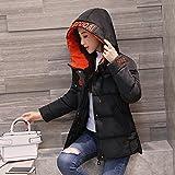 Xuanku Xuanku Winter Kleidung Baumwolle Mantel Weiblichen Kurz Video Dünne Feder Kleidung Aus Baumwolle Dicke Wasserdichte Jacke