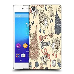 Snoogg Merry Christmas Skin Designer Protective Phone Back Case Cover For Sony Xperia Z4 Compact