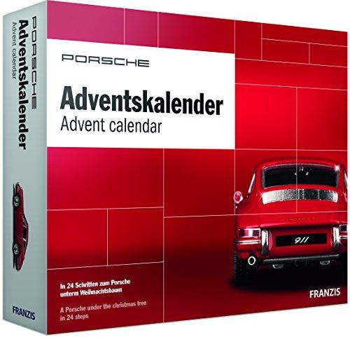 PORSCHE Adventskalender 2018 | In 24 Schritten zum Porsche Modellauto unterm Weihnachtsbaum | Ab 14 Jahren (Eine Zubehör Schaltung)