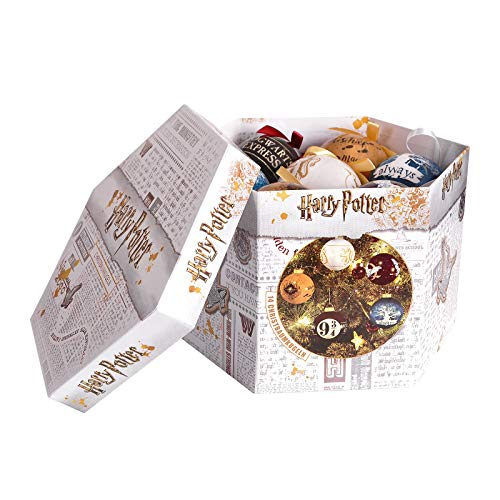 Elbenwald Palle dell'albero di Natale di Harry Potter Magic World 14tgl in Confezione Regalo